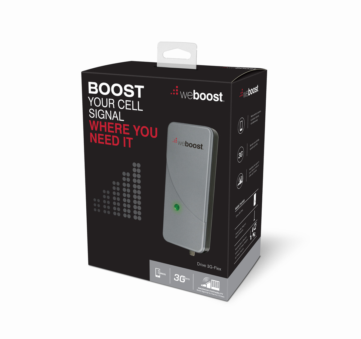 weBoost Drive 3G-Flex Cell Phone Signal Booster   470113 Box View