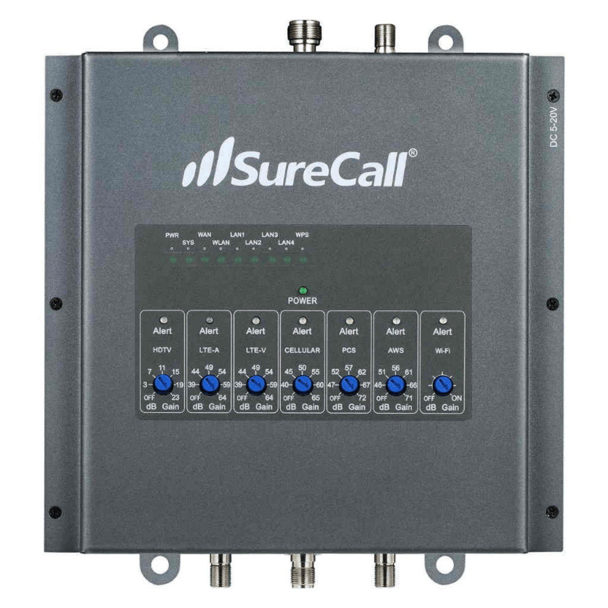 SureCall Fusion7   Front Side