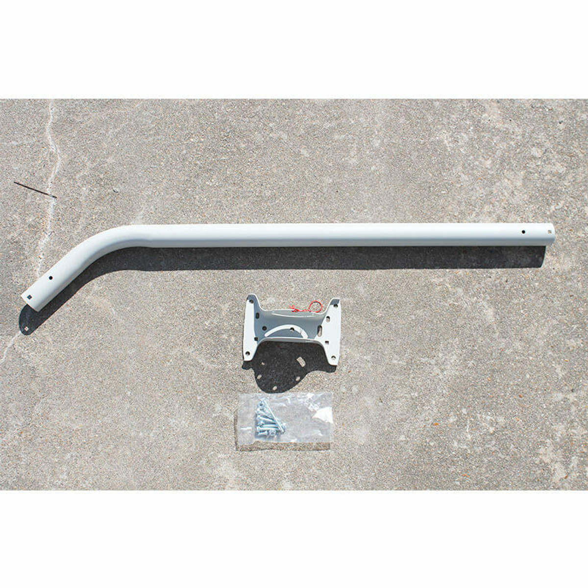 SignalBoosters 38-inch J Pole Antenna Mount with Adjustable Base