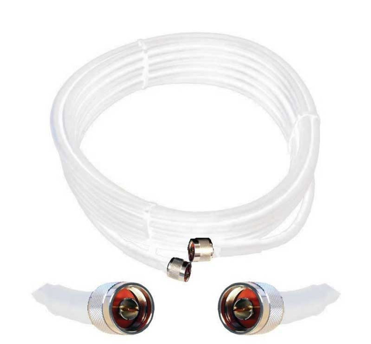 Wilson 952430 30-Foot WILSON400 Ultra Low-Loss Coaxial Cable Male-Male White, detail