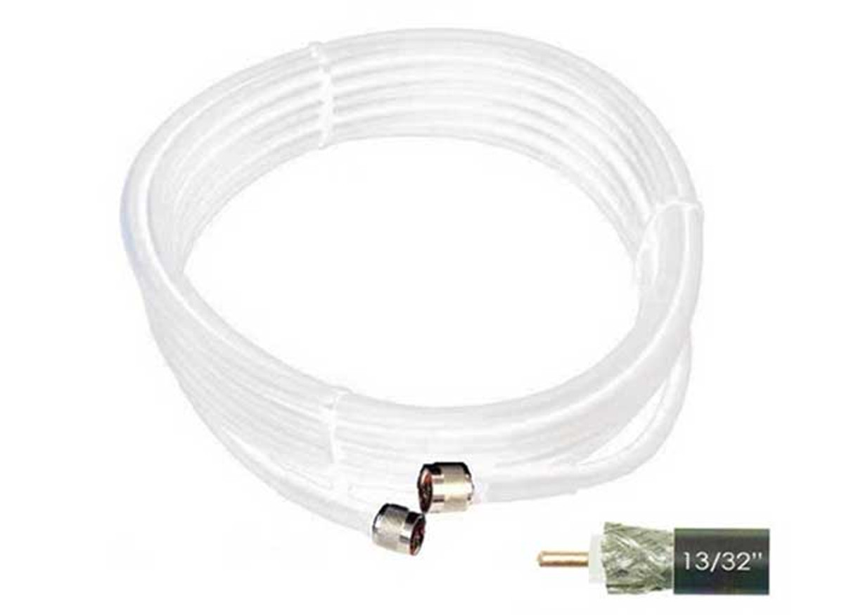 Wilson 952430 30-Foot WILSON400 Ultra Low-Loss Coaxial Cable Male-Male White
