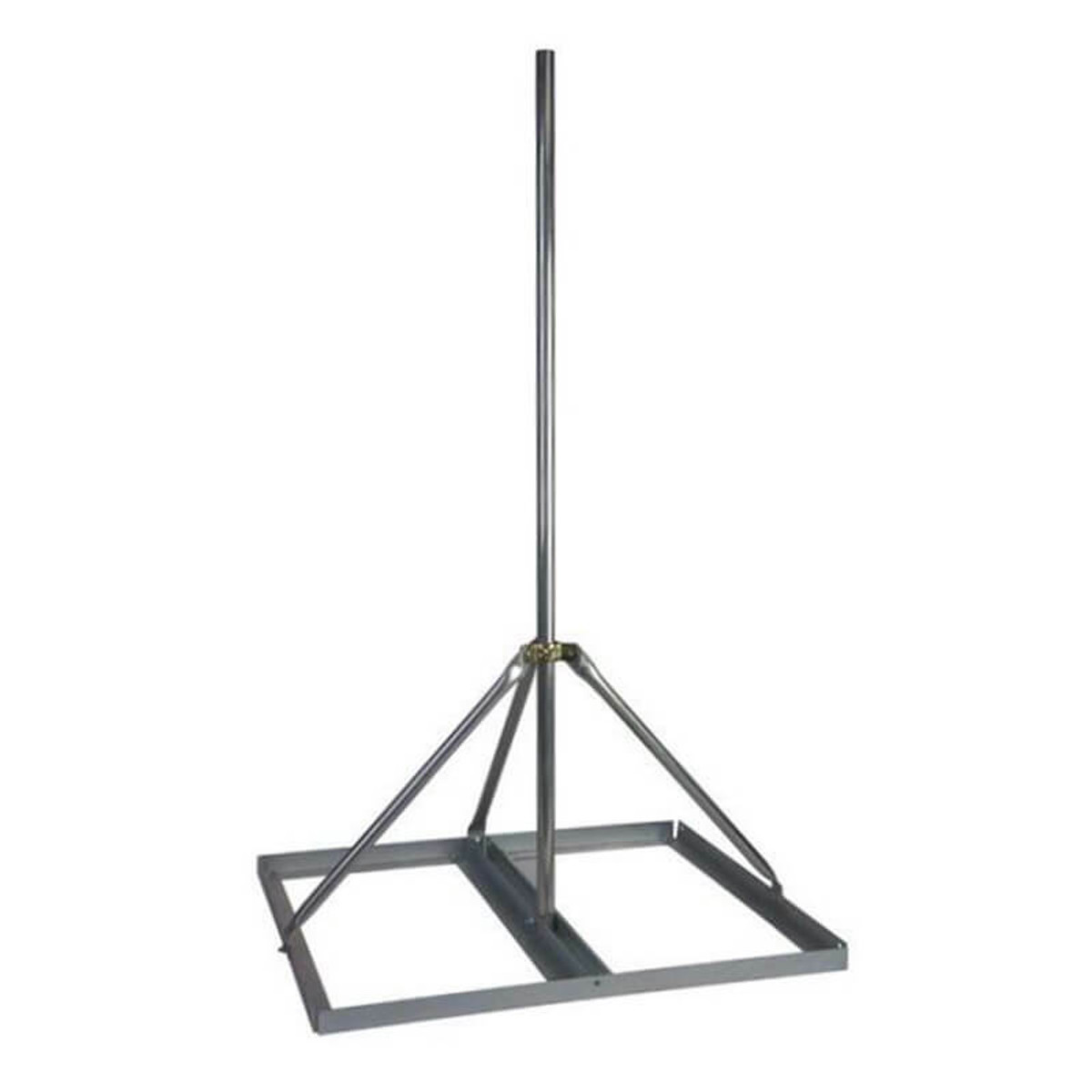 Non-penetrating Roof Antenna Sled Mount