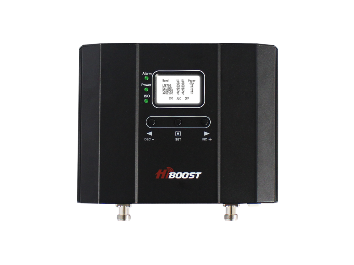 HiBoost Home 15K LCD Cell Phone Signal Booster Kit | F20G-5S-LCD