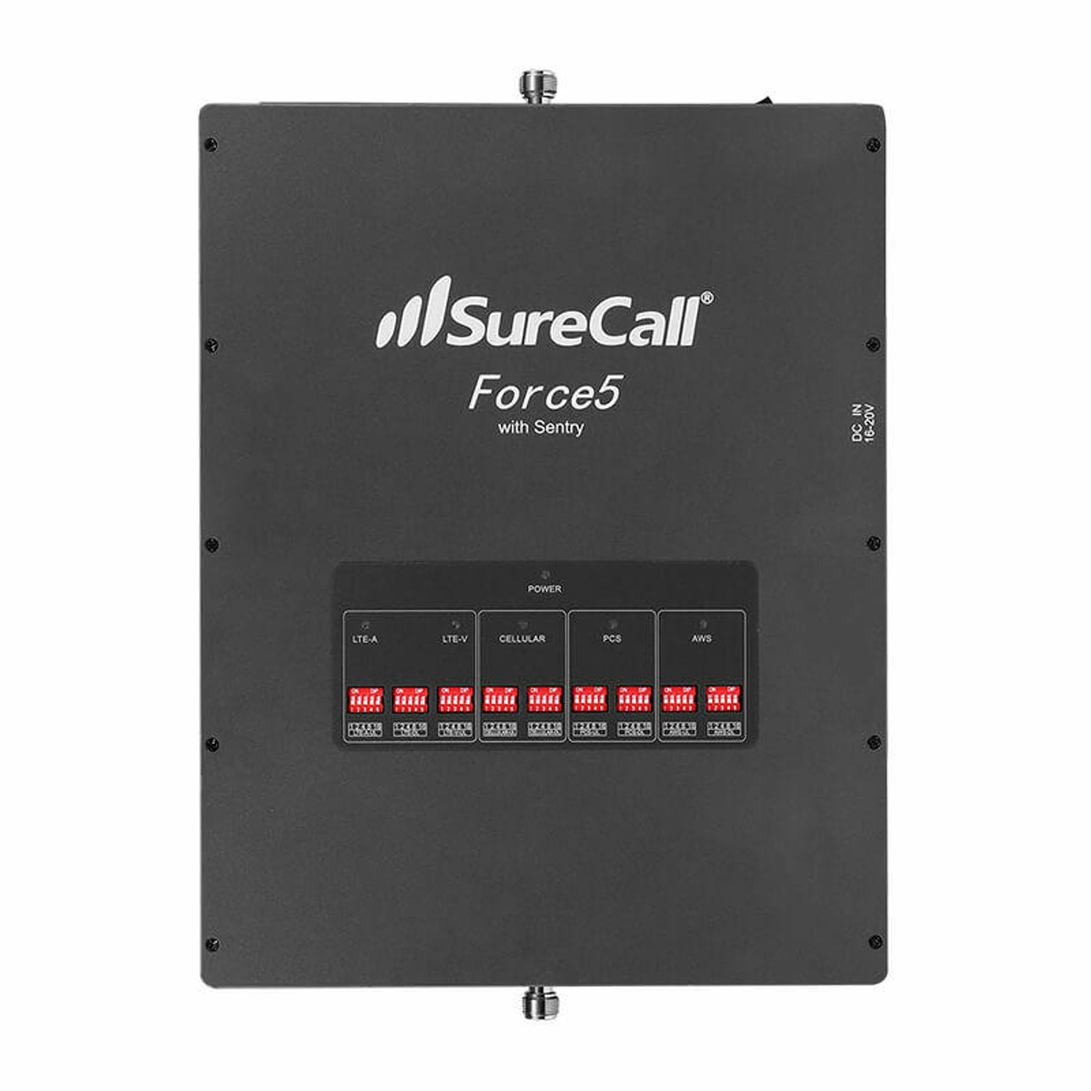 SureCall SureCall Force5 2.0 Signal Booster Kit with 1 Inside and 1 Outside Antenna