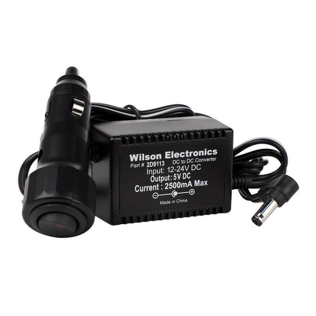 Wilson Electronics Wilson 859113 5V/2.5A DC Cigarette Lighter Power Supply