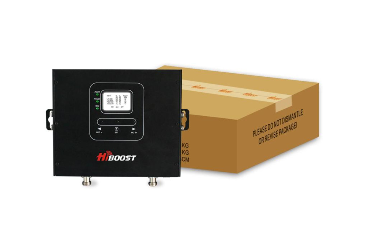HiBoost HiBoost Commercial 20K Pro Signal Booster Kit or PRO20-5S-LCD