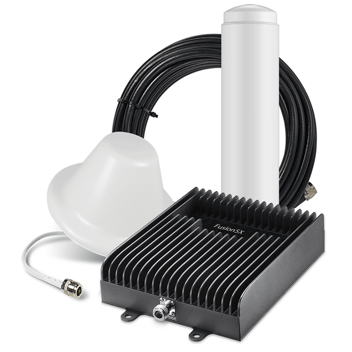 SureCall Fusion5X 2.0 Signal Booster Kit with 1 Inside / 1 Outside Antennas