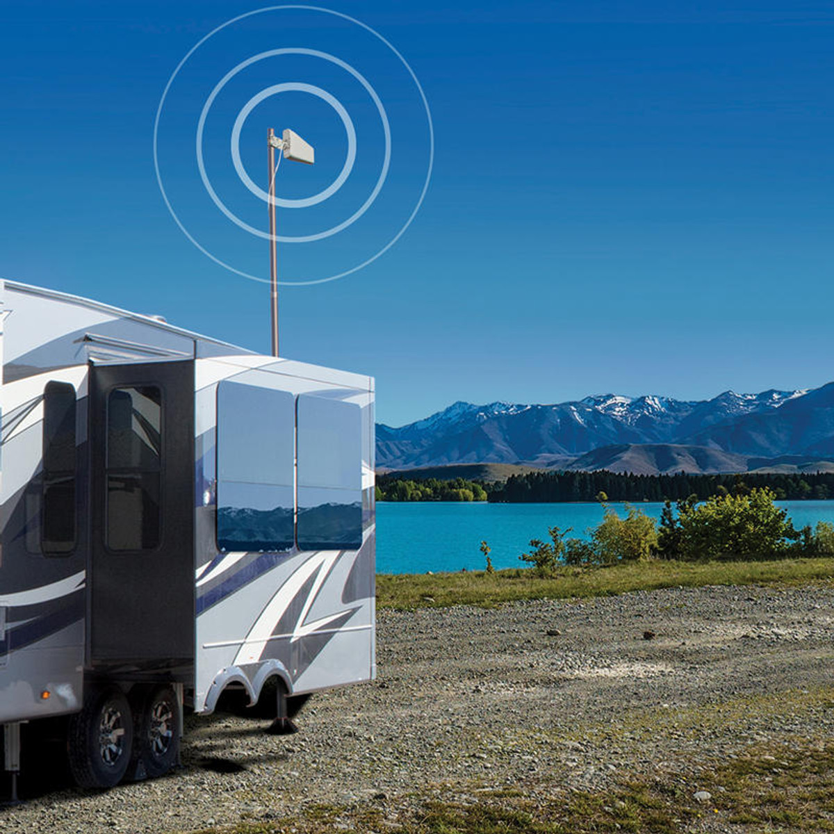 weBoost weBoost Connect RV 65 Cellphone Signal Booster Kit or 471203