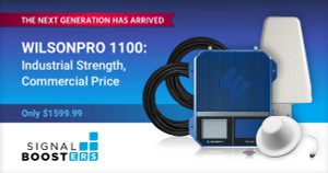 New WilsonPro 1100 by Wilson Electronics Shakes Up the Commercial Signal Booster Space