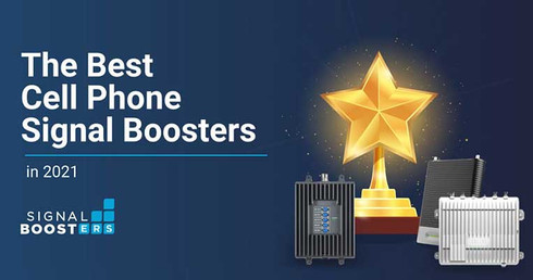 The 10 Best Cell Phone Signal Boosters in 2021: Better Signal Made Easy