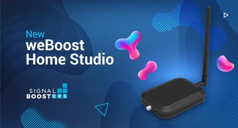 The New weBoost Home Studio and Home Studio Lite