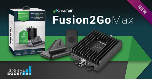 SureCall Fusion2Go Max Brings Next Generation Booster Technology to Vehicles