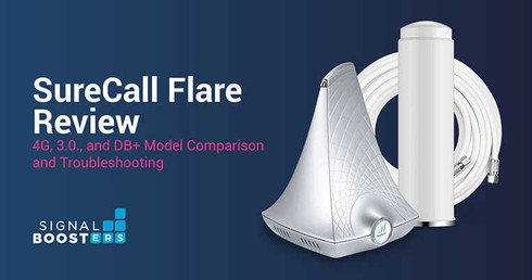 SureCall Flare Review: 4G, 3.0, and DB+ Comparison and Troubleshooting