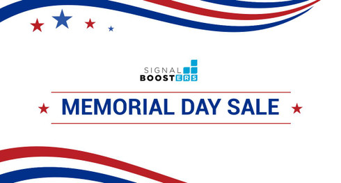 Signal Boosters Memorial Day Sale