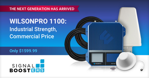 New WilsonPro 1100: Shakes Up the Commercial Signal Booster Space