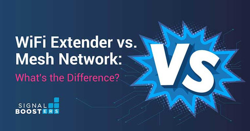 WiFi Extender vs. Mesh Network: What's the Difference?