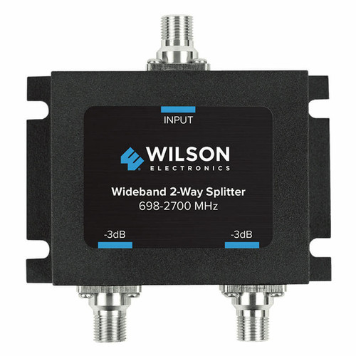 Wilson Electronics Wilson Electronics -3db 2-way Splitter for 698-2700 MHz 75ohm or 850034