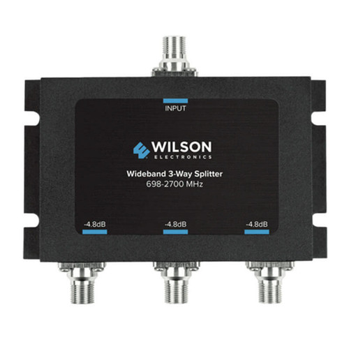 Wilson Electronics Wilson Electronics -4.8db 3-way Splitter for 698-2700 MHz 75ohm or 850035