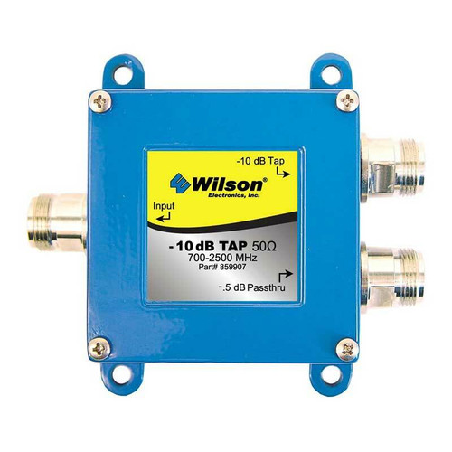 Wilson Electronics weBoost Wilson -10db / -0.5db Tap for 700-2500 Mhz 50ohm or 859907