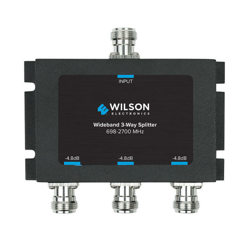 Wilson Electronics weBoost Wilson -4.8db 3-way Splitter For 700-2700mhz, 50ohm or 859980