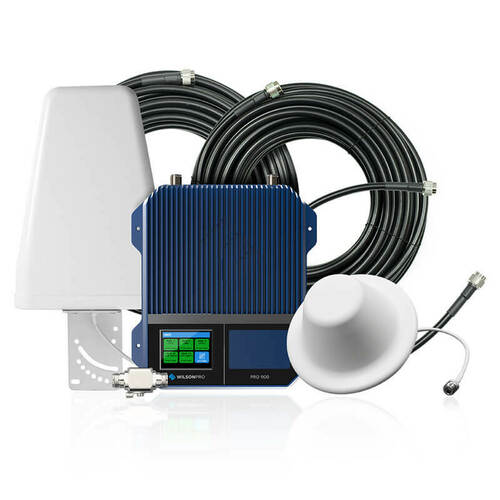 Wilson Pro Wilson Pro 1100 50 Ohm Commercial Signal Booster Kit, Refurbished or 460147R