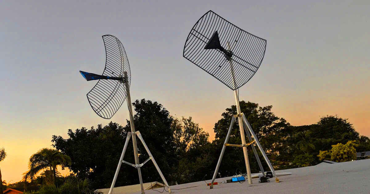bolton technical wideband antenna