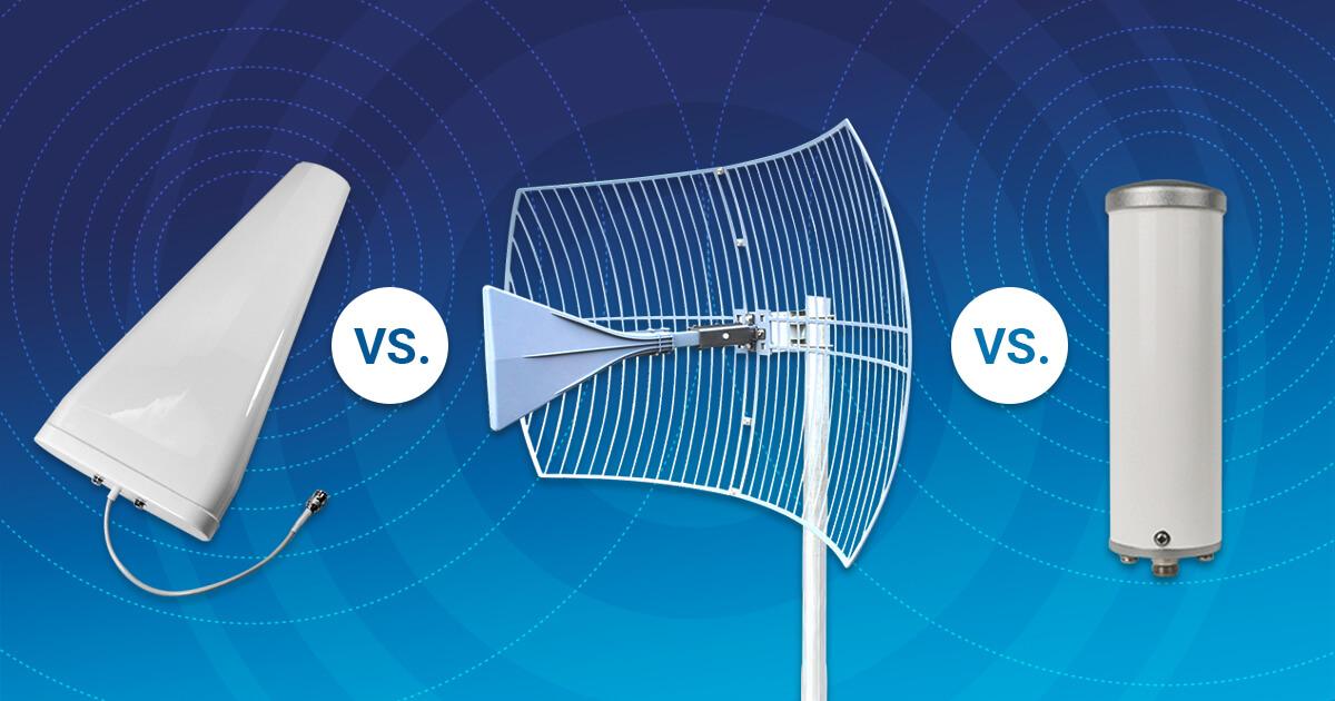 signal booster antenna comparison