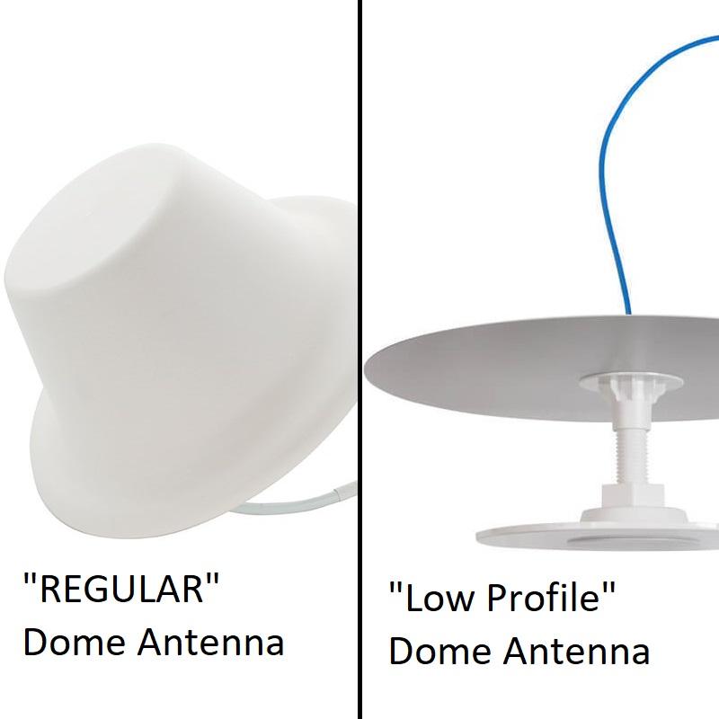 dome low profile dome antennas