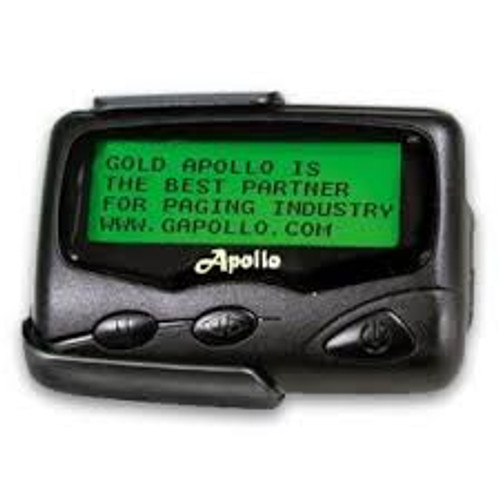 Apollo T-924 Alha Numeric Pager.Apollo 924 Reversible Display Zoom Feature 2 or 1 Line Viewing  With Reversible Zoom Feature Zooming From 2 to 1 Line  Quick Scroll In One Line Mode Innerglow LCD Display 2 Line Display Feature 26 Memory Slots Unlimited Character Per Mail Drop Double Back Light Display 4 Beep Alerts, 8 Melody Alerts, Vibration and Sleep Mode Lithium Backup Battery 5 Daily Alarm SetsBenefits: Month, Date, Year, Time Display Selective Message Lock / Delete Spring Loaded Holster 3 Adjustable Scroll Speeds Built In Smart Chip Data InvertInnerglow LCD Display