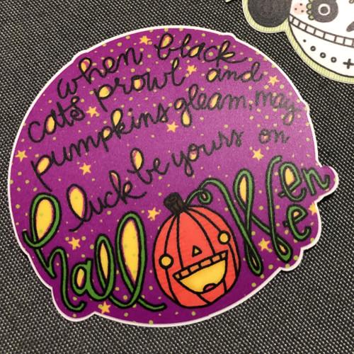 Halloween Luck Sticker