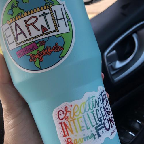 Earth w/o Art is EH Sticker Set