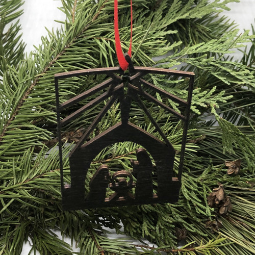 Nativity Silhouette Ornament