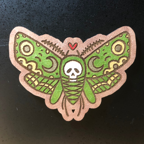 Death's Head Moth Magnet