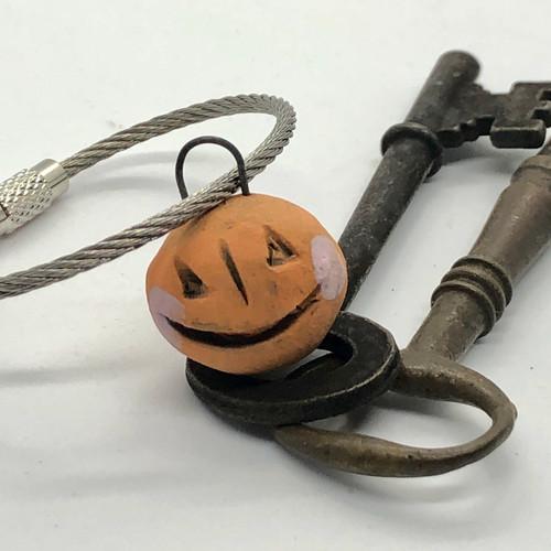 Wee Ghoulie Keychain Bauble - pumpkin jack