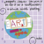 """""""Earth without ART is just eh."""" hard enamel pin"""