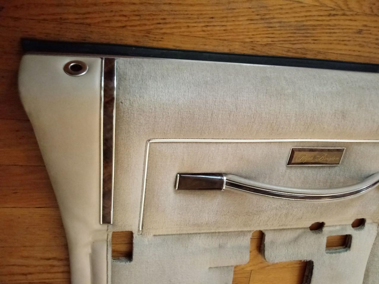 Original 1981-1982-1983-1984-1985 Oldsmobile Delta 88 Royale Driver's Door Door Panel