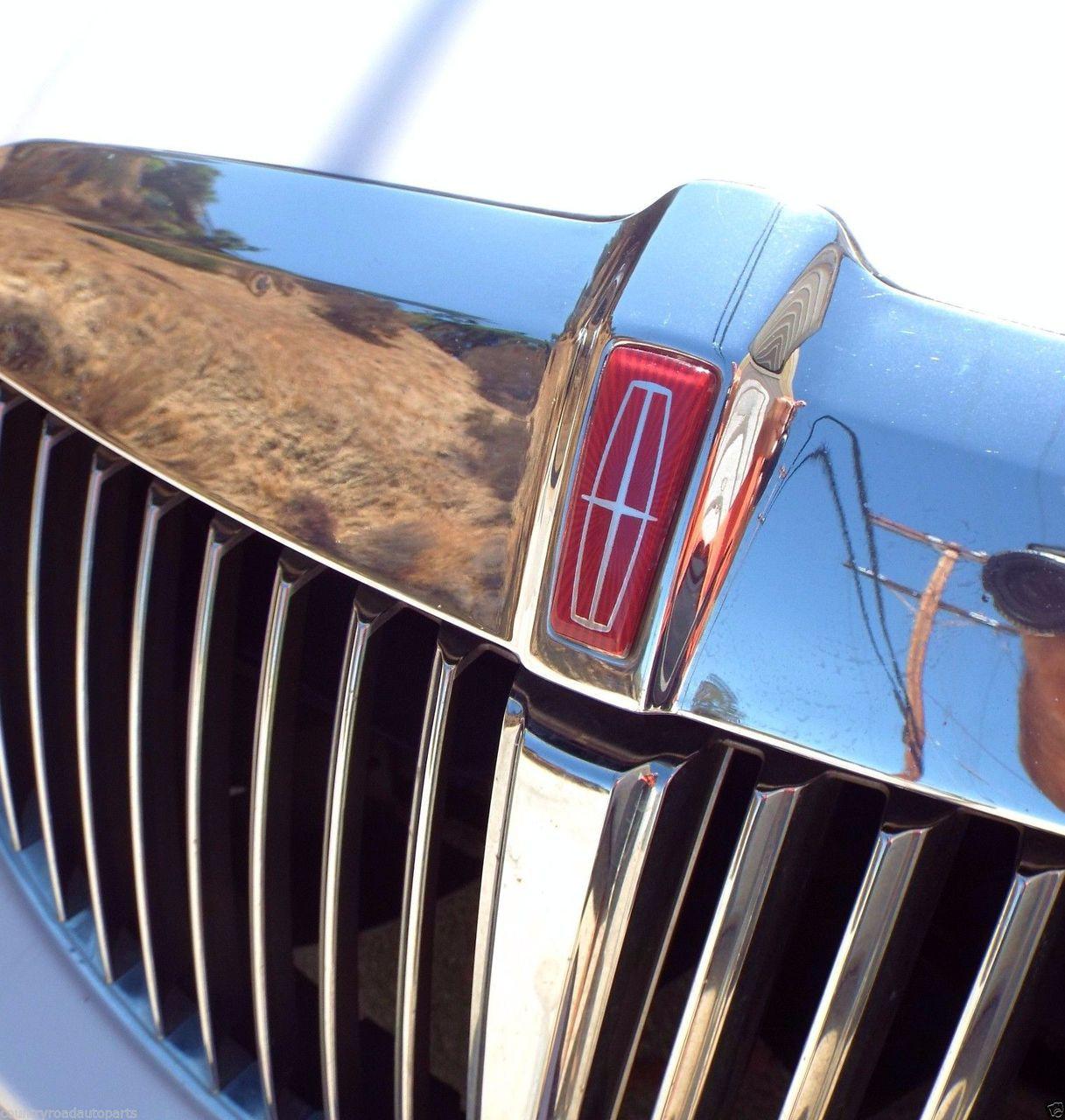 New 1998-1999-2000-2001-2002 Lincoln Town Car Hood Emblem-Badge  1998 Lincoln Town Car Hood-Hood Molding Emblem-Badge  1999 Lincoln Town Car Hood-Hood Molding Emblem-Badge  2000 Lincoln Town Car Hood-Hood Molding Emblem-Badge  2001 Lincoln Town Car Hood-Hood Molding Emblem-Badge  2002 Lincoln Town Car Hood-Hood Molding Emblem-Badge
