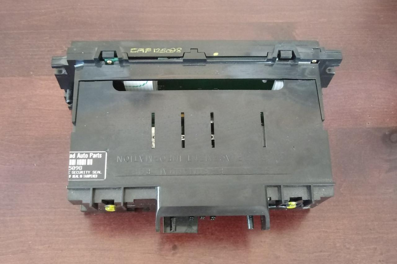 1990-1991-1992-1993-1994 Lincoln Town Car ETAC AC Controller Updated Version-Black