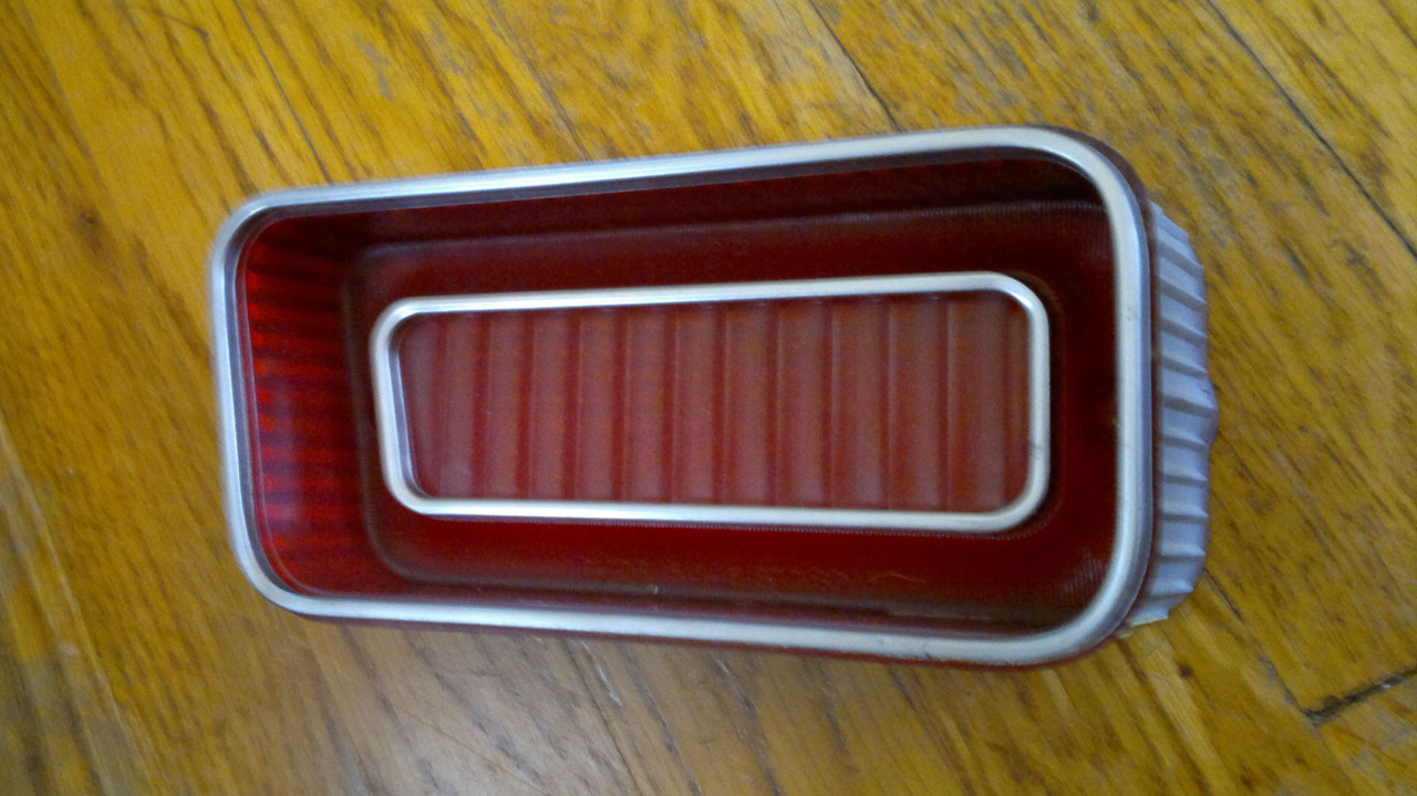 1969 Chevrolet Caprice Outer Tail Light Lens-LH 1969 Chevrolet Impala Outer Tail Light Lens-LH