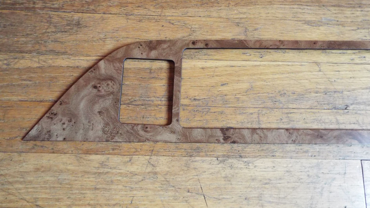 Original 1991-1992-1993 Chevrolet Caprice Instrument Panel-Lower dash Panel Wood Trim