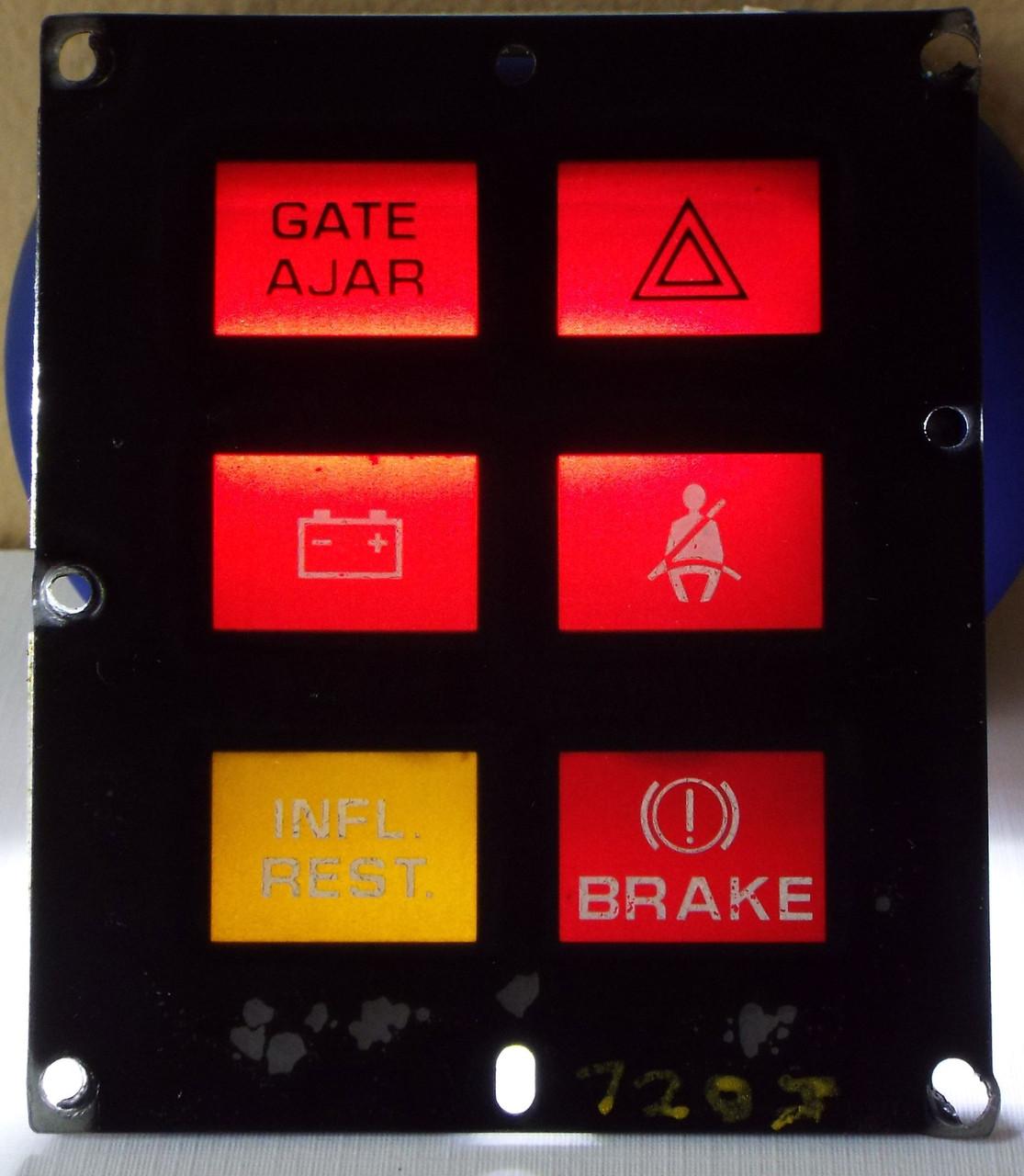1993 Chevrolet Caprice Warning Lights Panel 1992 Chevrolet Caprice Warning Lights Panel 1991 Chevrolet Caprice Warning Lights Panel