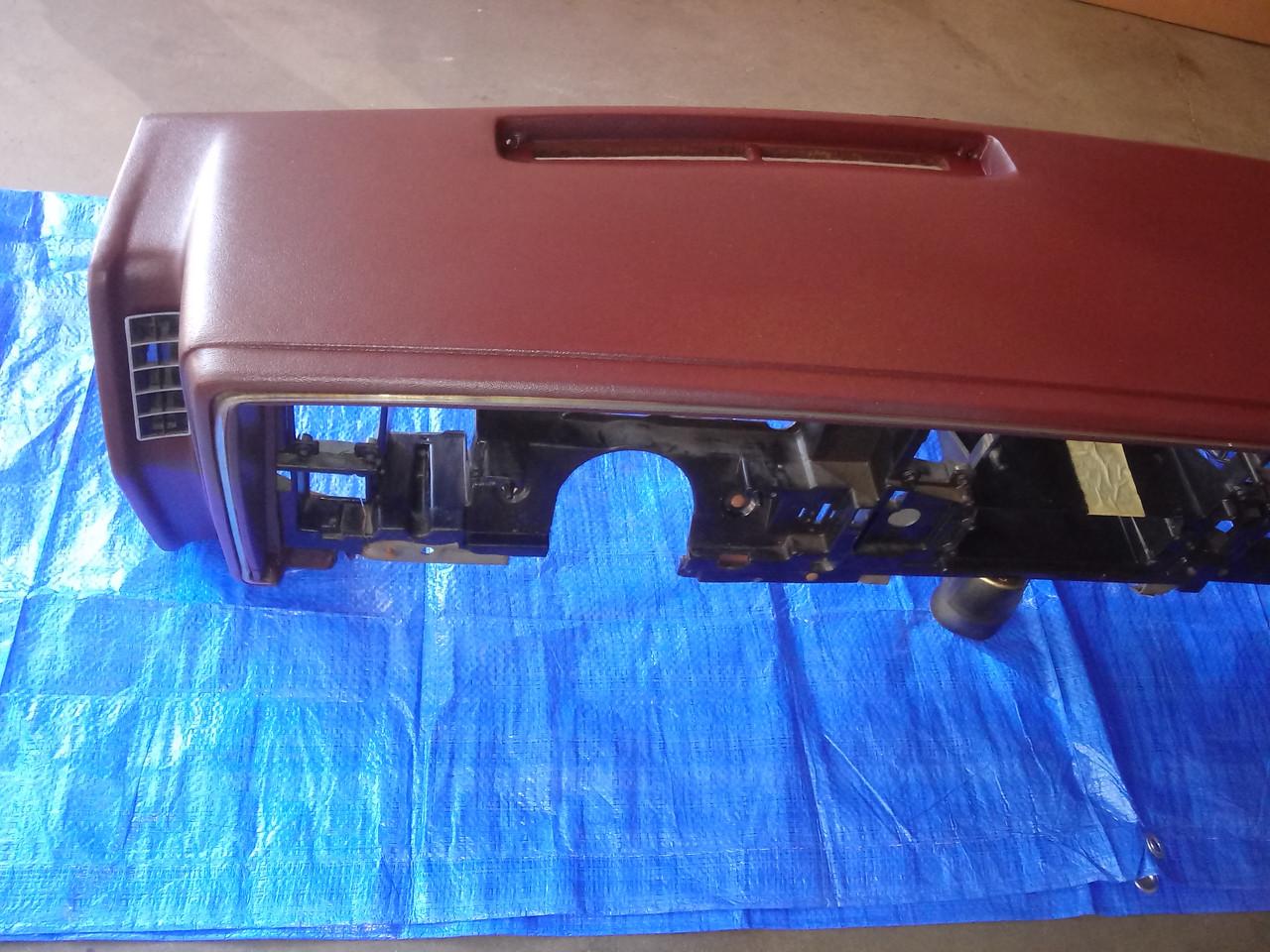 Original GM 1979-1980-1981-1982-1984-1985 Buick Riviera Dash/Dashboard-Burgundy