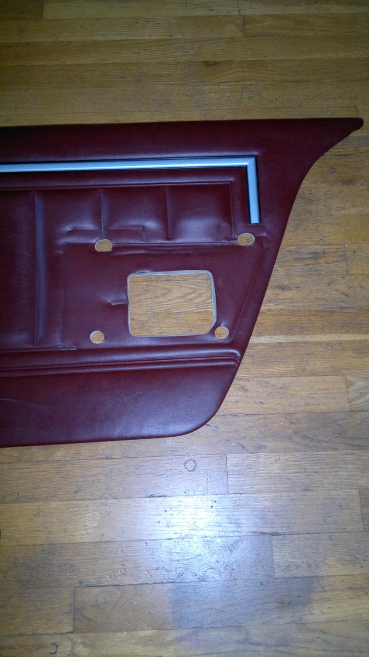Original 1980-1981-1982-1983-1984-1985-1986-1987-1988-1989-1990 Chevrolet Caprice-Impala Rear Door Panel-RH