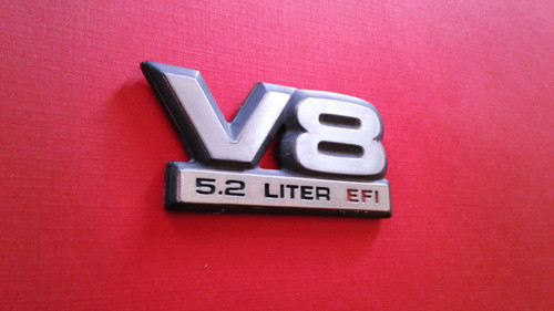 Original 1991-1992-1993-1994-1995-1996 Dodge Dakota V8 5.2 Emblem-Badge