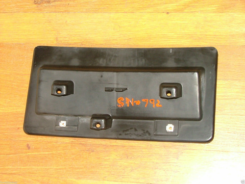 Original 1982-1983-1984-1985-1986 Chevrolet Camaro Sport Coupe- Berlinetta Front License Plate Holder