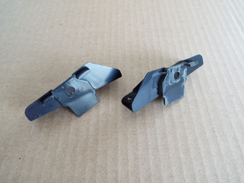 Original GM 1981-1982-1983-1984-1985-1986-1987 Oldsmobile Cutlass-Buick Regal Stereo Mounting Brackets