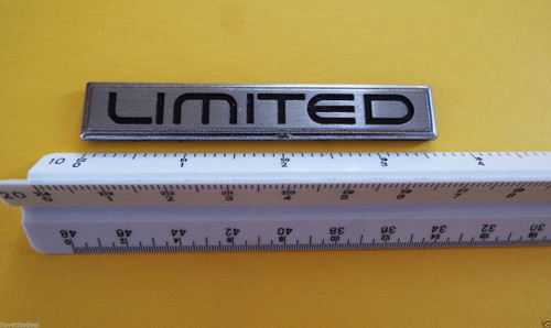 Original 1984-1985-1986-1987 Buick Regal Limited Quarter Panel Emblem-Badge