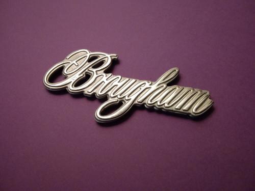 NOS New Original 1987-1988-1989-1990-1991-1992 Cadillac Fleetwood Brougham Quarter Panel Emblem-Badge-Silver