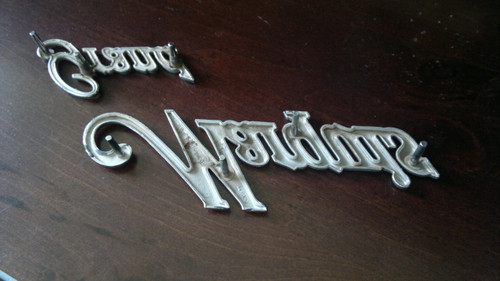 Original 1975-1976-1977-1978 Mercury Grand Marquis Fender Emblem
