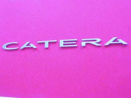 Original 2000-2001 Cadillac Catera-Catera Trunk Lid Emblem